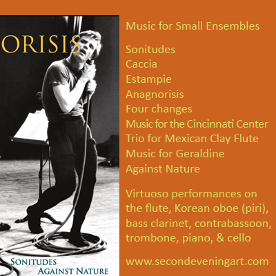 audio CD, 'Anagnorisis' by Robert Hughes with Thatcher Clark, dancer